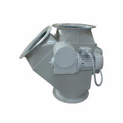 Клапан перекидной с электроприводом