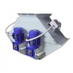 Клапан перекидной трехсторонний с электроприводом